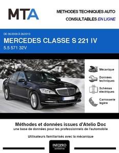MTA Mercedes Classe S (221) phase 2