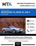 MTA Mercedes Classe SL (230) phase 1