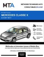 MTA Mercedes Classe X (470) pick-up double cabine