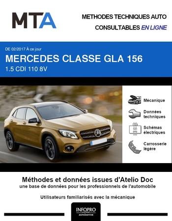 MTA Mercedes GLA (156) phase 2
