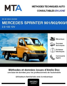 MTA Mercedes Sprinter (901-905) chassis cabine phase 1
