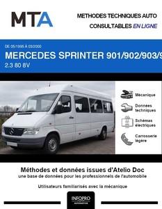 MTA Mercedes Sprinter (901-905) combi 4p phase 1