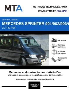 MTA Mercedes Sprinter (901-905) combi 4p phase 2