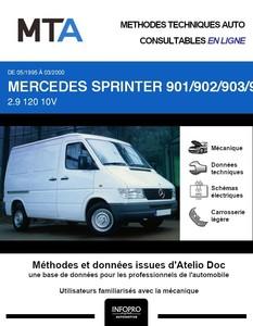 MTA Mercedes Sprinter (901-905) fourgon 4p phase 1