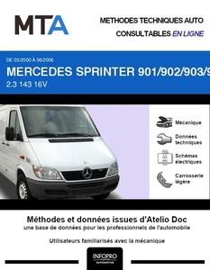 MTA Mercedes Sprinter (901-905) fourgon 4p phase 2