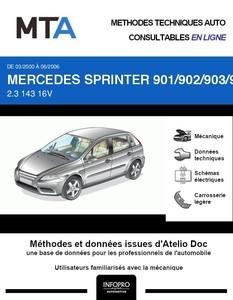 MTA Mercedes Sprinter (901-905) plateau phase 2