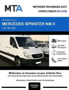 MTA Mercedes Sprinter (906) fourgon 3p