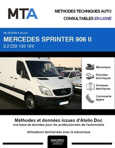 MTA Mercedes Sprinter (906) fourgon 5p