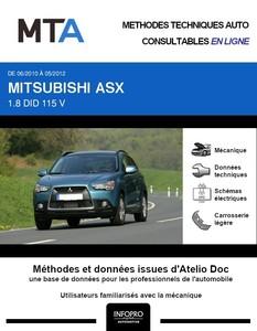 MTA Mitsubishi ASX phase 1