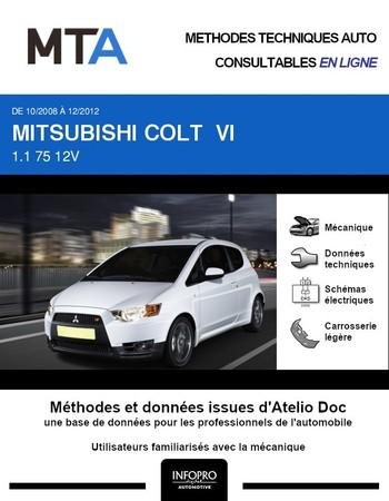 MTA Mitsubishi Colt VI 3p phase 2