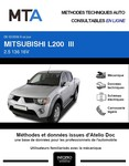 MTA Mitsubishi L200 IV pick-up double cabine