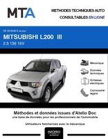 MTA Mitsubishi L200 IV pick-up double cabine