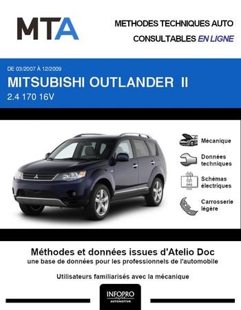 MTA Mitsubishi Outlander II phase 1