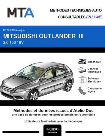 MTA Mitsubishi Outlander III phase 2