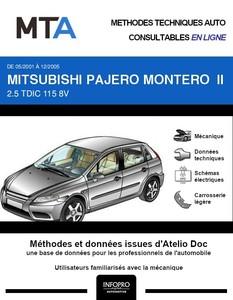 MTA Mitsubishi Pajero III 3p