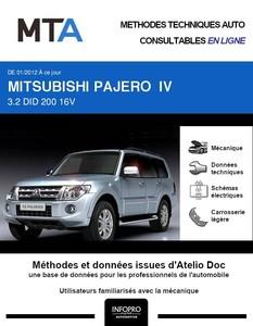 MTA Mitsubishi Pajero IV 5p phase 2