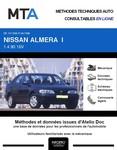 MTA Nissan Almera I  berline phase 1