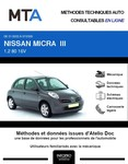 MTA Nissan Micra III (K12) 5p phase 1