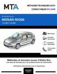 MTA Nissan NV200 fourgon 3p