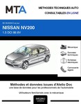 MTA Nissan NV200 fourgon 4p