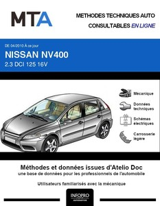 MTA Nissan NV400 fourgon 4p