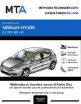 MTA Nissan NV400 fourgon 5p