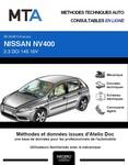MTA Nissan NV400 plateau double cabine