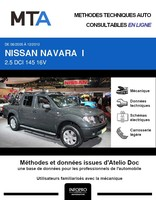 MTA Nissan Navara D40 pick-up double cabine phase 1