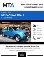 MTA Nissan Navara D40 pick-up phase 1