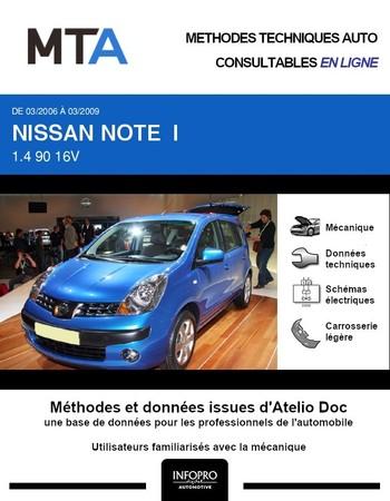 MTA Nissan Note I phase 1