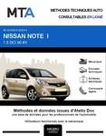 MTA Nissan Note I phase 2