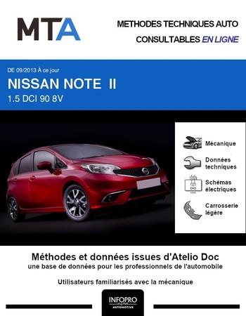 MTA Nissan Note II