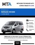 MTA Nissan Nv200 fourgon 5p