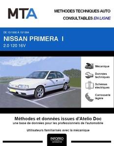 MTA Nissan Primera I 5p phase 1