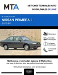 MTA Nissan Primera I berline phase 1