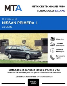 MTA Nissan Primera I  break phase 1
