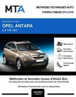 MTA Opel Antara phase 1