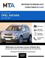 MTA Opel Antara phase 2