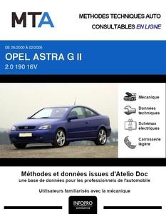 MTA Opel Astra G coupé