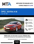 MTA Opel Astra H 3p phase 2