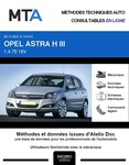MTA Opel Astra H 5p phase 2