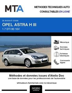 MTA Opel Astra H break phase 1