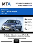 MTA Opel Astra H break phase 2
