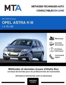 MTA Opel Astra H break phase 2