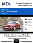 MTA Opel Astra H cabriolet phase 1