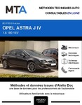 MTA Opel Astra J berline
