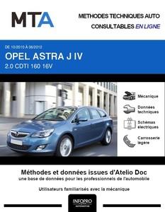MTA Opel Astra J break phase 1