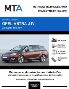 MTA Opel Astra J break phase 2