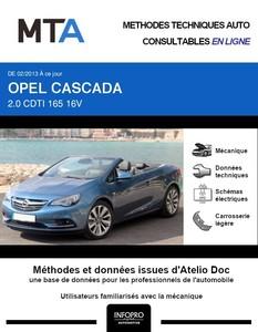 MTA Opel Cascada