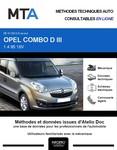 MTA Opel Combo C 5p